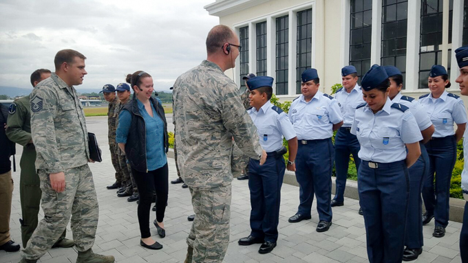 WADS provides air defense expertise to Guatemalan Air Force