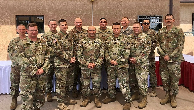 WADS air battle manager graduates Air Defense Artillery Fire Control Officers course