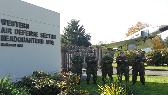 Canadian Air Defense Sector Members Complete Training at WADS