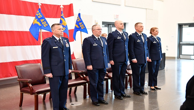 Humphrey assumes command of the 225th Air Defense Group